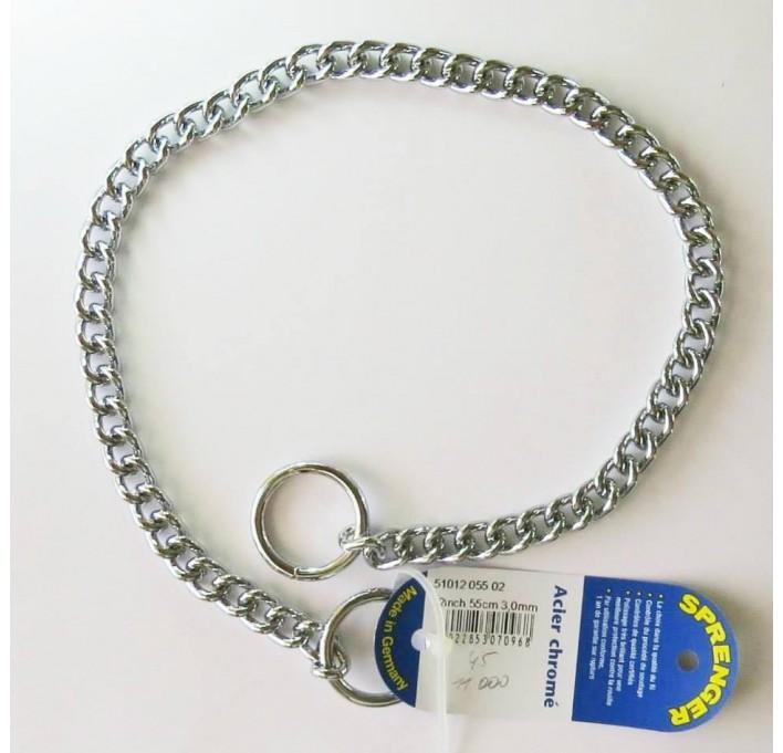 Collar de acero cromado 51012 Herm Sprenger