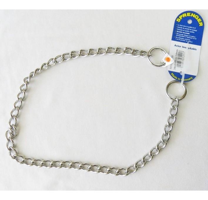 Collar de acero inoxidable Herm Sprenger 51112 55