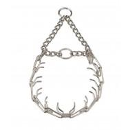Collar de puas de acero niquelado 3,2 mm  Herm Sprenger