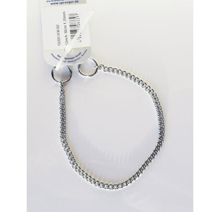 Collar de acero cromado Herm Sprenger 50201