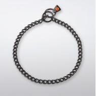 Collar de acero inoxidable negro 50903 Herm Sprenger