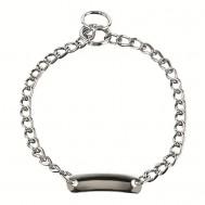 Collar con placa de acero cromado 51101 Herm Sprenger