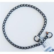 Collar de acero inoxidable negro Herm Sprenger 51112