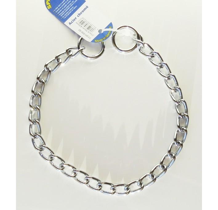 Collar de acero cromado Herm Sprenger 51381