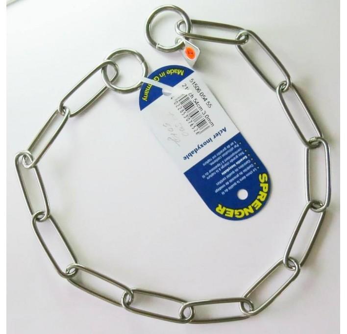 Collar de acero inoxidable Herm Sprenger 51506