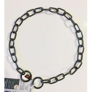 Collar de acero inoxidable negro Herm Sprenger 51541
