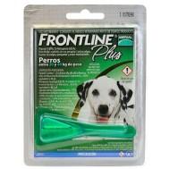 Pipeta Frontline Plus Contra Pulgas Y Garrapatas Para Perros